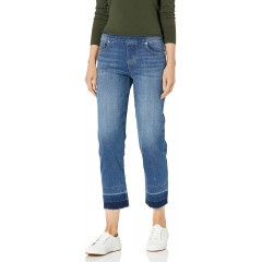 Jag Jeans Women's Lewis Straight with Released Hem Jean at Women's Jeans store