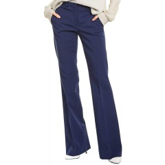 Theory Women's Demitria Pant Bright Navy 00 at  Women's Clothing store