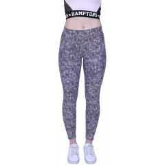 YOGAIR Ultra Soft Printed Leggings for Women Workout Yoga Pants Athletic Tummy Control Leggings at Women's Clothing store
