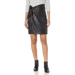 KENDALL + KYLIE Women's Side Tie Twist Knot Skirt at Women's Clothing store