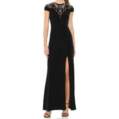 Adrianna Papell Women's Sequin Jersey Dress at  Women's Clothing store