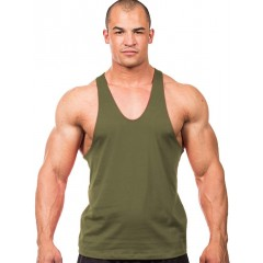 Iwearit Athletic-Cut Muscle Workout Tank Top at Men's Clothing store
