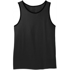 Young Men's Cotton Ringer Tank Top in 10 Colors XS-4XL