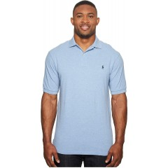 Polo Ralph Lauren Big & Tall Big and Tall Classic Fit Mesh Polo Jamaica Heather 3XB at Men's Clothing store