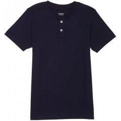 French Toast Men's Short Sleeve Henley at Men's Clothing store