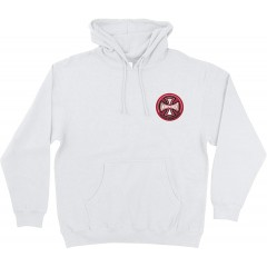 Independent Men's 78 Cross Hoody X-Large White at Men's Clothing store