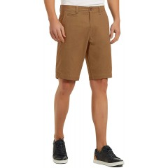 SPECIALMAGIC Men's Casual Short Relaxed Fit 11 Stretch Cotton Summer Golf Walk with Coin Pocket |