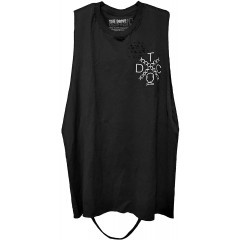 The Drive Clothing Snitches Get Stiches Tank Top - Road Rash Collection #9