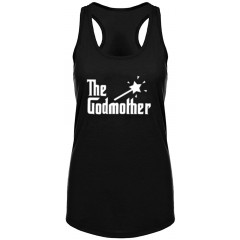 Womens Godmother Fitness Workout Racerback Tank Tops at  Women's Clothing store